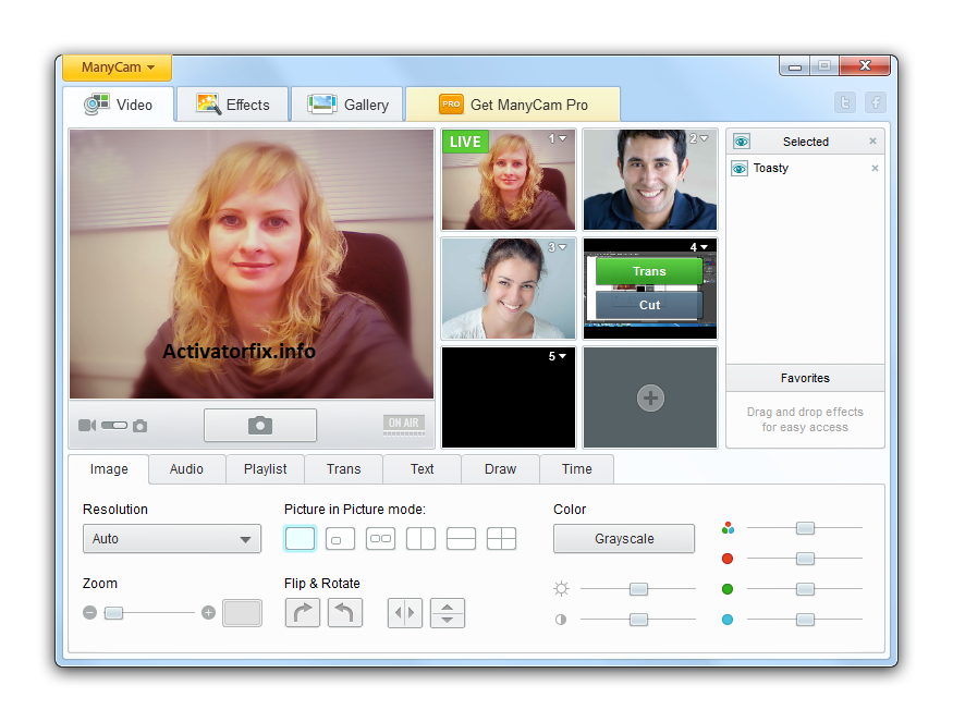 ManyCam Pro 7.8.5.30 Crack With License Key Full Download
