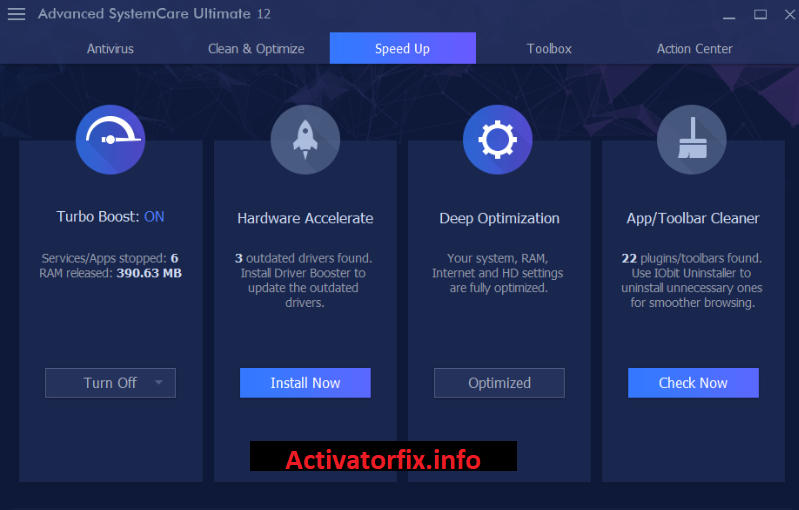 Advance SystemCare Activation Key Free
