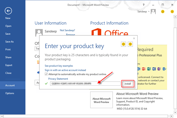 Microsoft Office 2021 Crack With Product Key