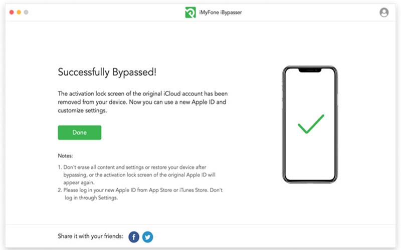 iMyFone iBypasser Serial Key