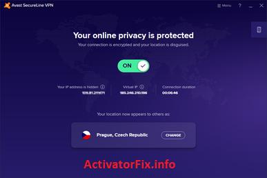 Avast SecureLine VPN V5.6.4 Crack With Free License Key {Latest}