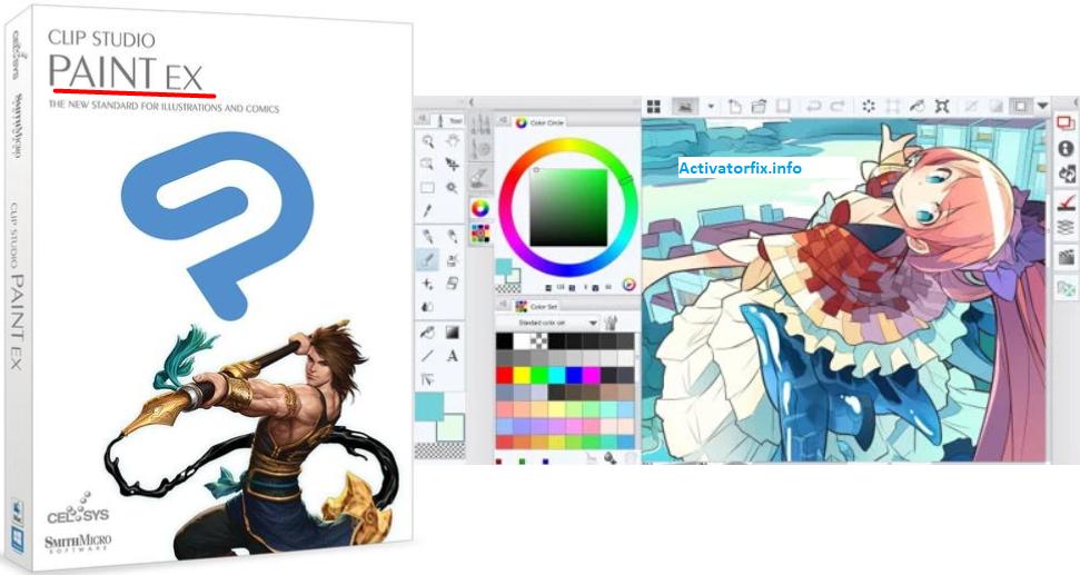Clip Studio Paint EX 1.10.12 Crack + Serial Key [Updated]