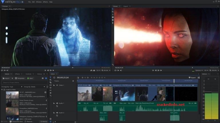 HitFilm Pro 16.1 Crack