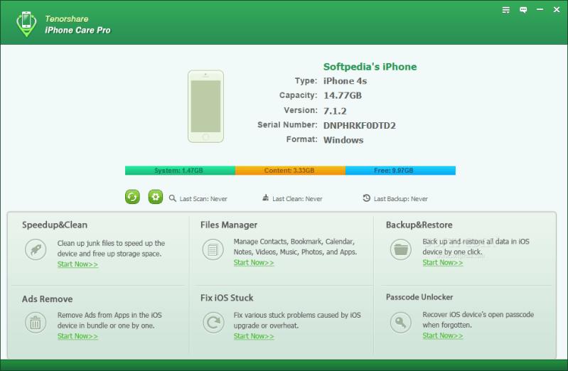 Tenorshare iCareFone Registration Code