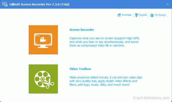 GiliSoft Screen Recorder Portable